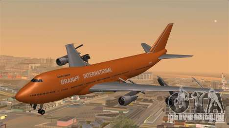 Boeing 747 Braniff для GTA San Andreas