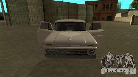 Chevrolet C10 Drift для GTA San Andreas вид сбоку