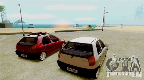 Fiat Palio EDX Turbo Performance для GTA San Andreas вид слева