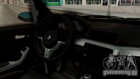 BMW M3 E46 GTR 2005 Stock для GTA San Andreas вид справа