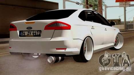 Ford Mondeo для GTA San Andreas вид слева