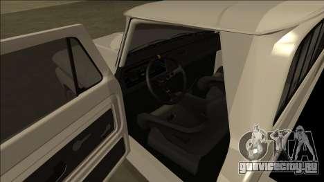 Chevrolet C10 Drift для GTA San Andreas вид сзади