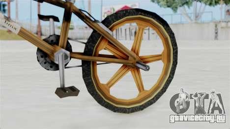 Retro BMX from Bully для GTA San Andreas вид справа