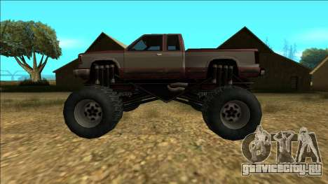 New Yosemite v2 Monster для GTA San Andreas салон