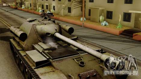 SU-101 122mm from World of Tanks для GTA San Andreas вид справа