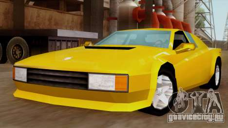 Cheetah from Vice City Stories IVF для GTA San Andreas