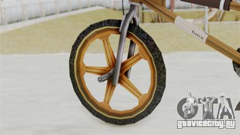 Retro BMX from Bully для GTA San Andreas вид сзади слева