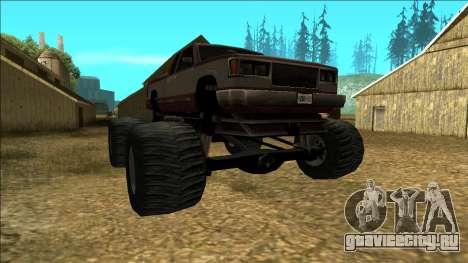 New Yosemite v2 Monster для GTA San Andreas вид сзади