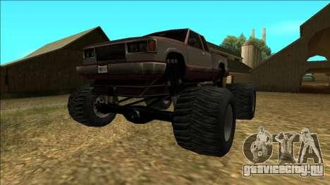 New Yosemite v2 Monster для GTA San Andreas вид сзади слева