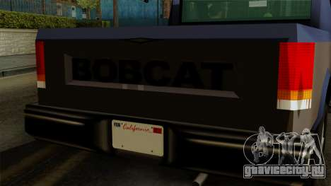 Bobcat from Vice City Stories IVF для GTA San Andreas вид справа