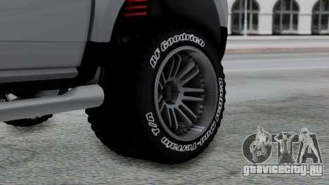 Dacia Duster Terranger 6x6 для GTA San Andreas вид сзади слева