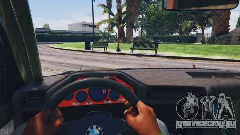 1991 BMW E30 Drift Edition v1.1 для GTA 5