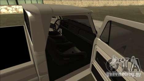 Chevrolet C10 Drift для GTA San Andreas вид справа
