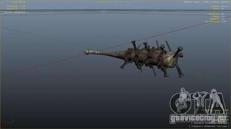 Бейсбольная бита из Saints Row The Third для GTA 5 шестой скриншот