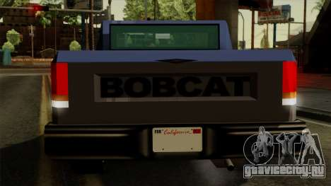 Bobcat from Vice City Stories IVF для GTA San Andreas салон