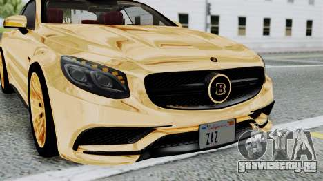 Brabus 850 Gold для GTA San Andreas вид сбоку
