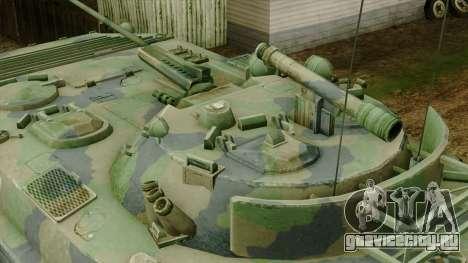 CoD 4 MW 2 BMP-2 Woodland для GTA San Andreas вид справа