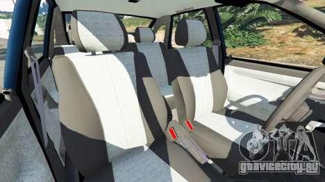 ВАЗ-2112 для GTA 5 руль и приборная панель