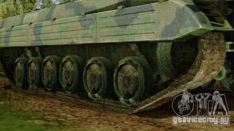 CoD 4 MW 2 BMP-2 Woodland для GTA San Andreas вид сзади слева