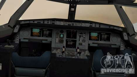 Airbus A380-861 Air India для GTA San Andreas вид сзади