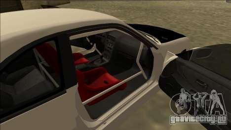 Nissan Skyline R33 Drift для GTA San Andreas вид сзади слева