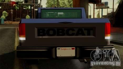 Bobcat from Vice City Stories IVF для GTA San Andreas вид снизу