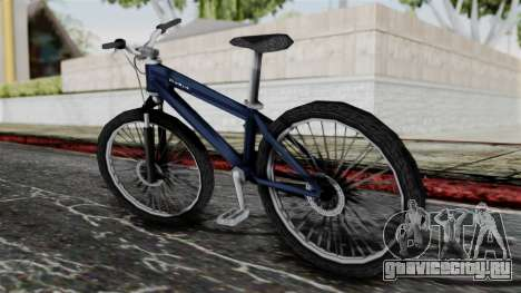 Mountain Bike from Bully для GTA San Andreas вид слева