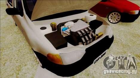Fiat Palio EDX Turbo Performance для GTA San Andreas вид сзади