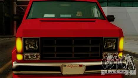 Burrito from Vice City Stories IVF для GTA San Andreas вид сзади