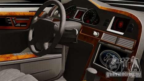 Ford Mondeo для GTA San Andreas вид справа