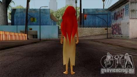 Ariel Mermaid для GTA San Andreas третий скриншот