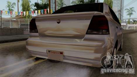 GTA 5 Declasse Asea для GTA San Andreas вид сбоку
