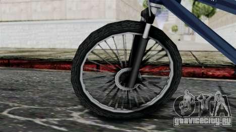 Mountain Bike from Bully для GTA San Andreas вид сзади слева