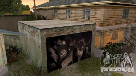 Johnson House Garage - Wiz Khalifa для GTA San Andreas третий скриншот
