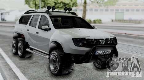 Dacia Duster Terranger 6x6 для GTA San Andreas