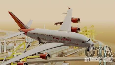 Airbus A380-861 Air India для GTA San Andreas