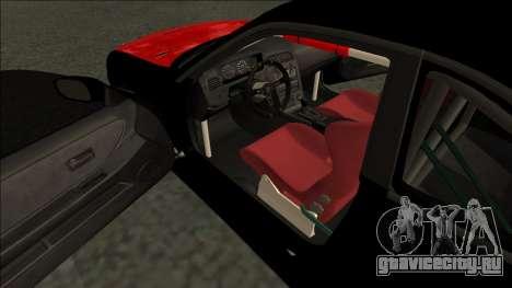 Ниссан Скайлайн Р33 Монстр Энергии для GTA San Andreas вид справа