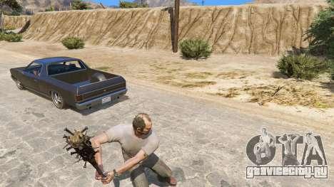 Бейсбольная бита из Saints Row The Third для GTA 5 четвертый скриншот