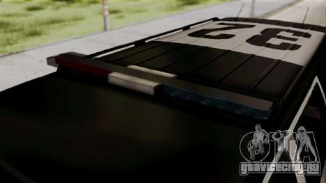 Sheriff Granger Police GTA 5 для GTA San Andreas вид справа