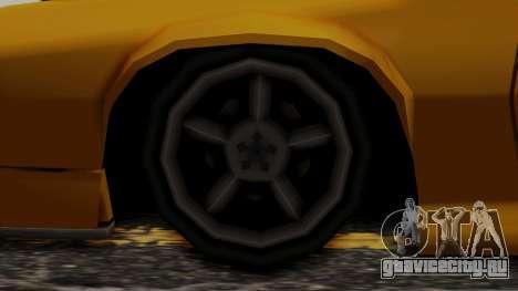 Buffalo (Minimal Tuned) для GTA San Andreas вид сзади слева
