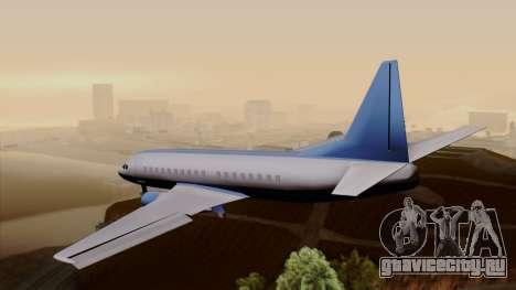 AT-400 Air India для GTA San Andreas вид слева