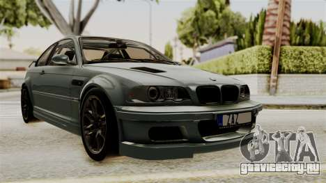 BMW M3 E46 GTR 2005 Stock для GTA San Andreas