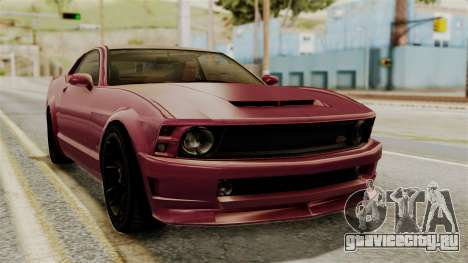 GTA 5 Vapid Dominator IVF для GTA San Andreas