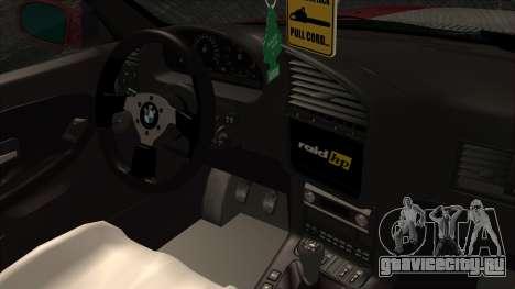BMW M3 E36 Strike для GTA San Andreas вид справа