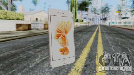 iPhone 6S Rose Gold для GTA San Andreas