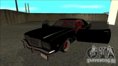 Ford Gran Torino Drift для GTA San Andreas вид сзади