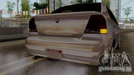 GTA 5 Declasse Asea для GTA San Andreas вид сверху