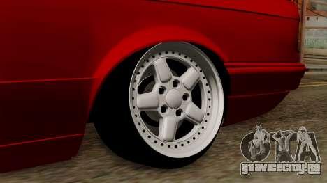 BMW M3 E30 для GTA San Andreas вид сзади слева