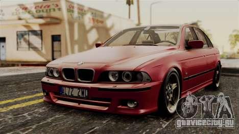 BMW 530D E39 2001 Mtech для GTA San Andreas
