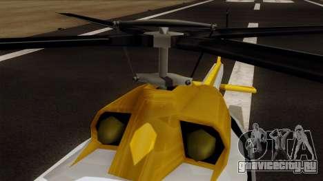 Armadillo from Vice City Stories для GTA San Andreas вид справа